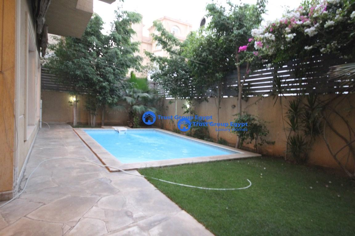 semi furnished pent house with private swimming pool for ren