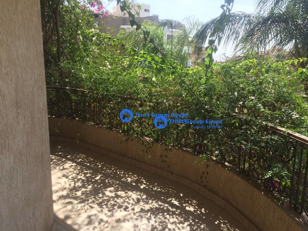 semi furnished apartment with big balcony for rent in cheaui