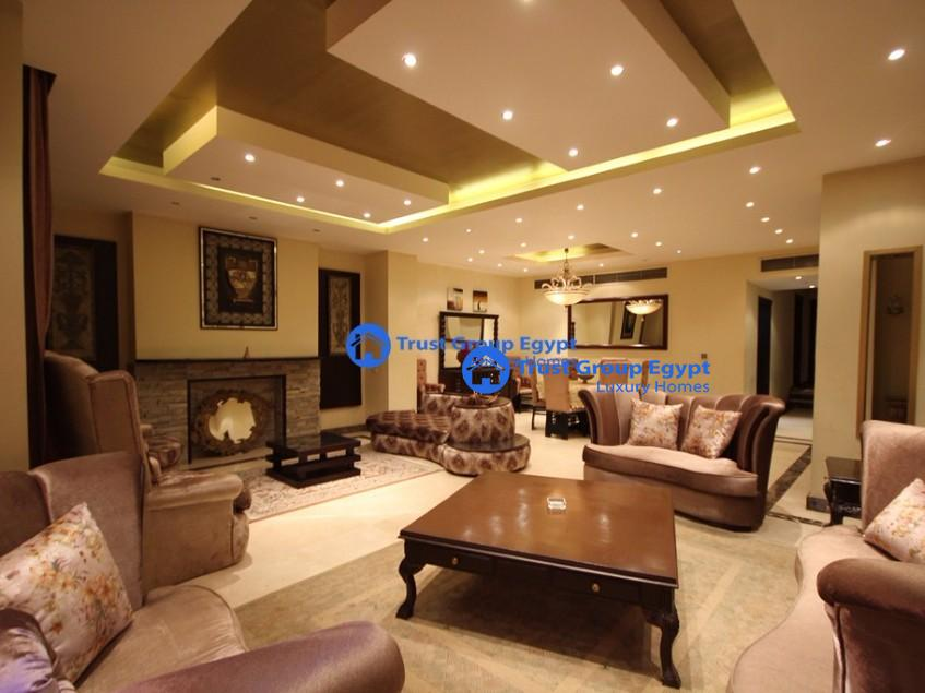 ground floor extremely modern fully furnished for rent in new cairo
