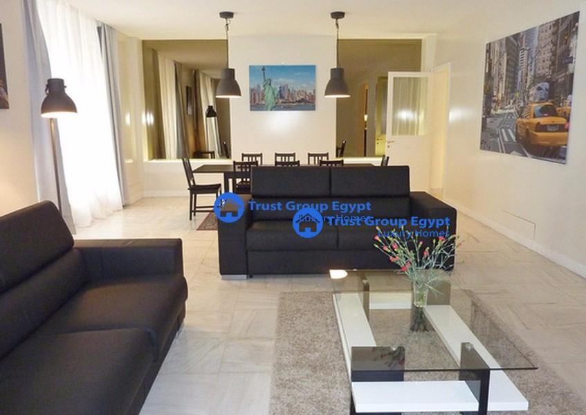 super  modern  brand new fully furniture   apartment for rent in maadi