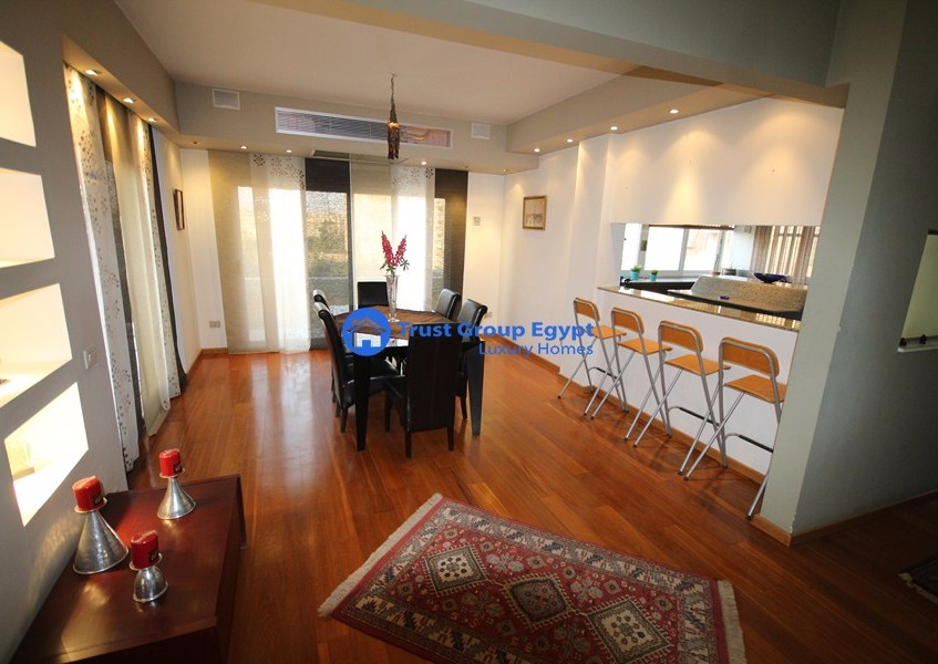 super  modern super clean fully furniture pent house for rent in maadi degla