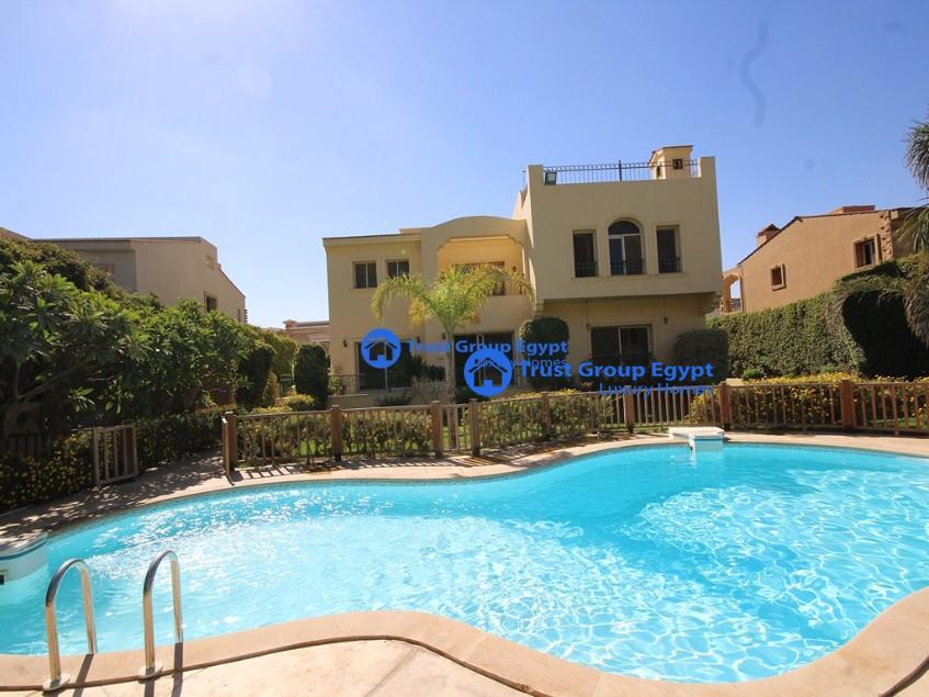 Best opportunity available in arabella park villa for rent with open view