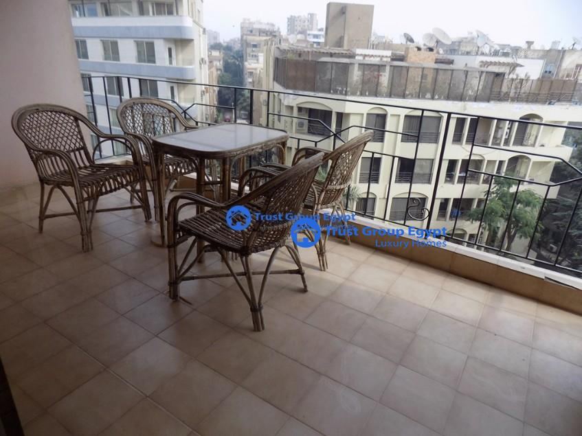 apartment for rent in maadi saryaat with open view