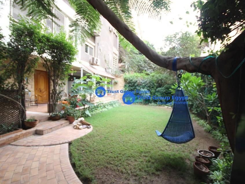 amazing ground floor for rent in maadi saryaat