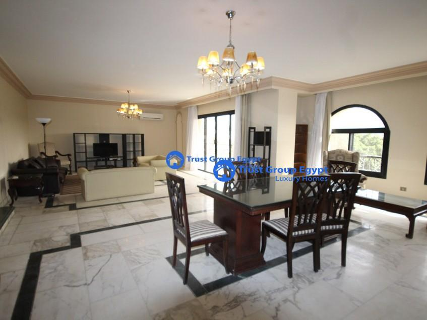 in the best location in maadi degla apartment for rent with open view