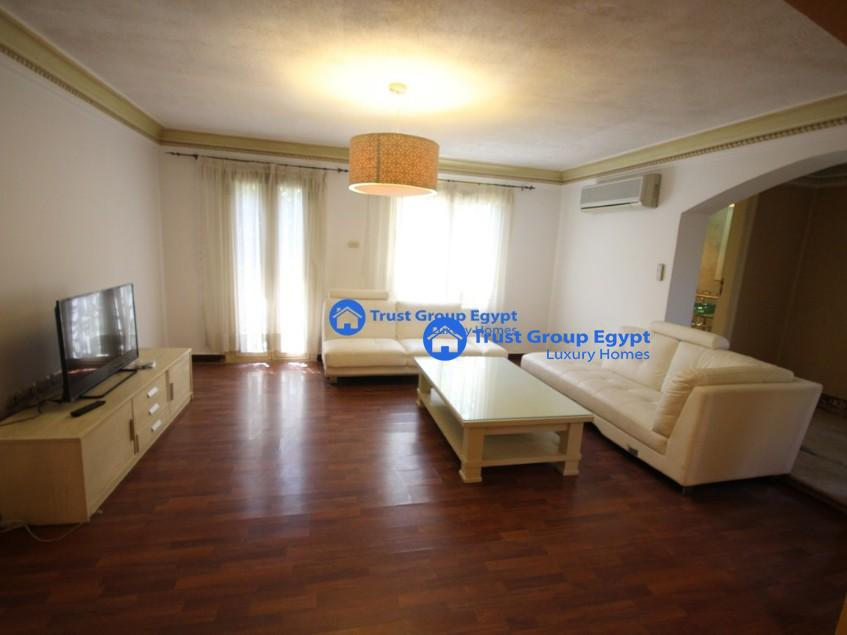 ground floor duplex for rent in saryaat maadi