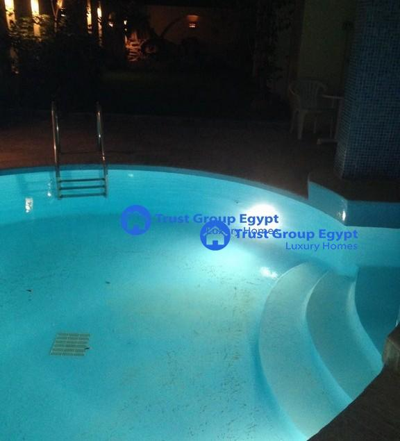 ground floor with private swimming pool for rent i in maadi